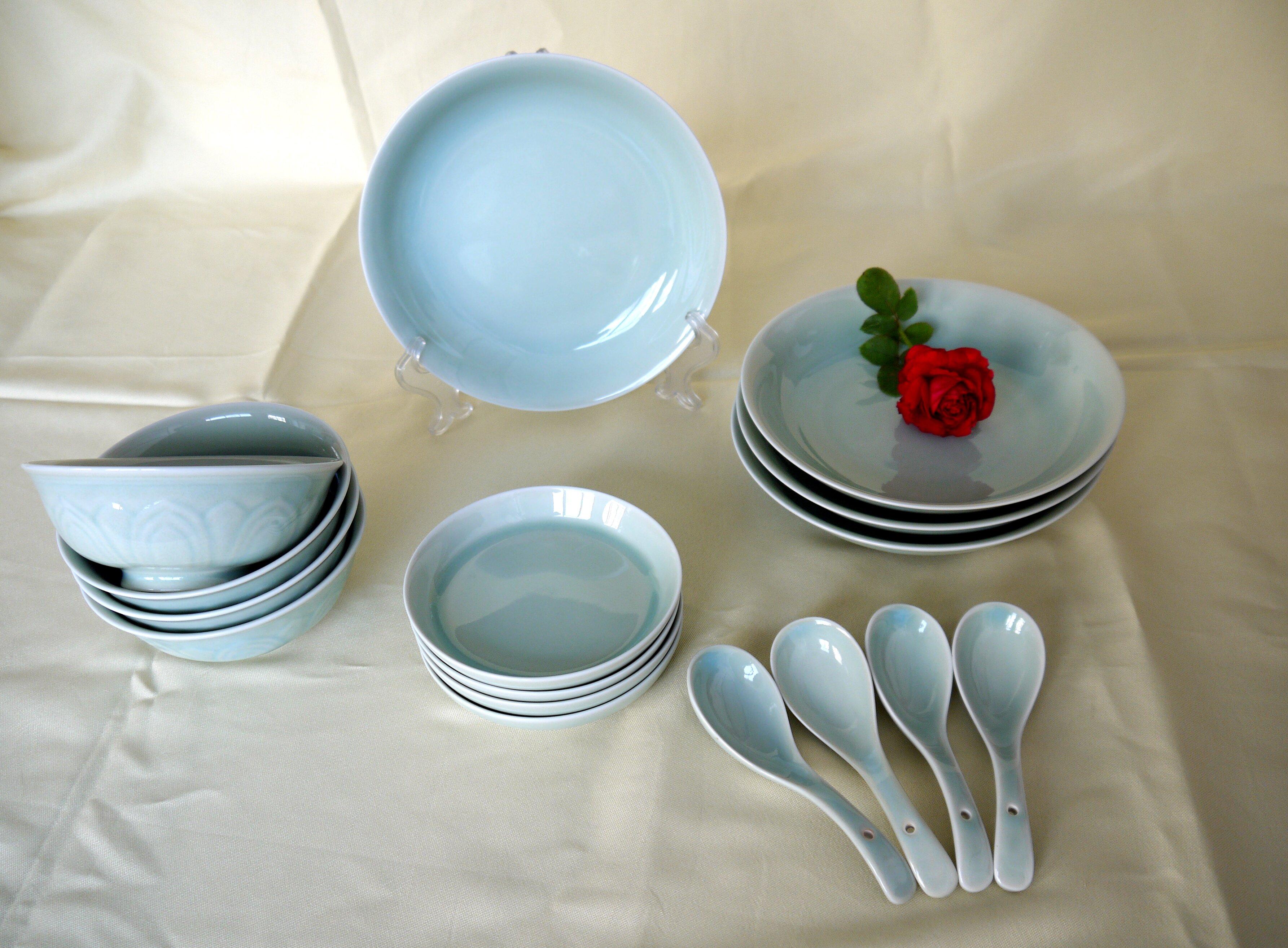 白玉陶瓷16头餐具