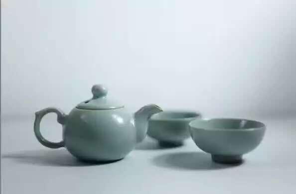 汝瓷茶具  刘冬青